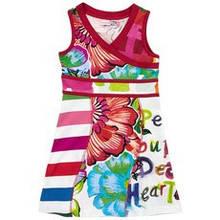 Детское платье для девочки Desigual Испания 41V3172 Белый