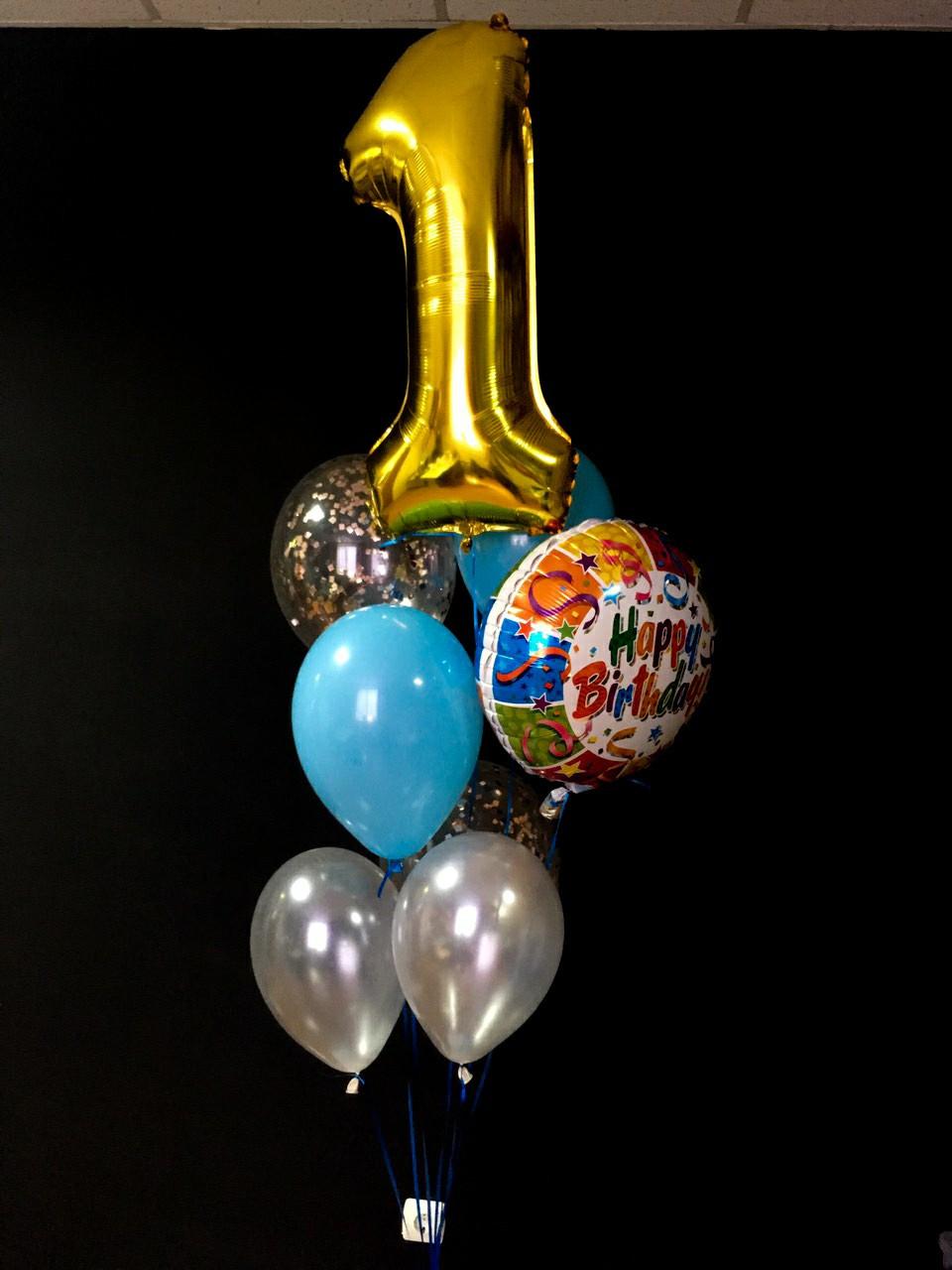 Гелієві кульки  на день народження