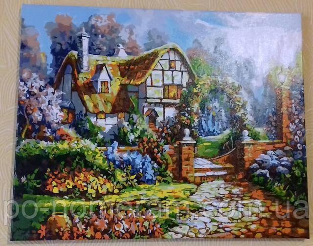Раскраска по номерам Сказочный сад
