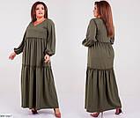 Платье женское макси  раз.50-62, фото 3