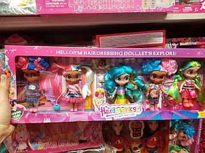 """Куклы Стильные подружки """"Hairdorables"""" набор 5 штук Хэрдораблс DH2215 (Аналог), фото 2"""