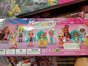"""Куклы Стильные подружки """"Hairdorables"""" набор 5 штук Хэрдораблс DH2215 (Аналог), фото 3"""