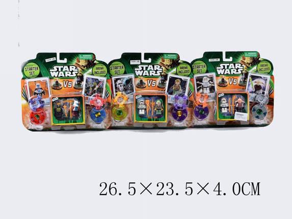 """Конструктор """"STAR WARS"""", 3 вида, на планш. 26х23х4 /144-2/, фото 2"""