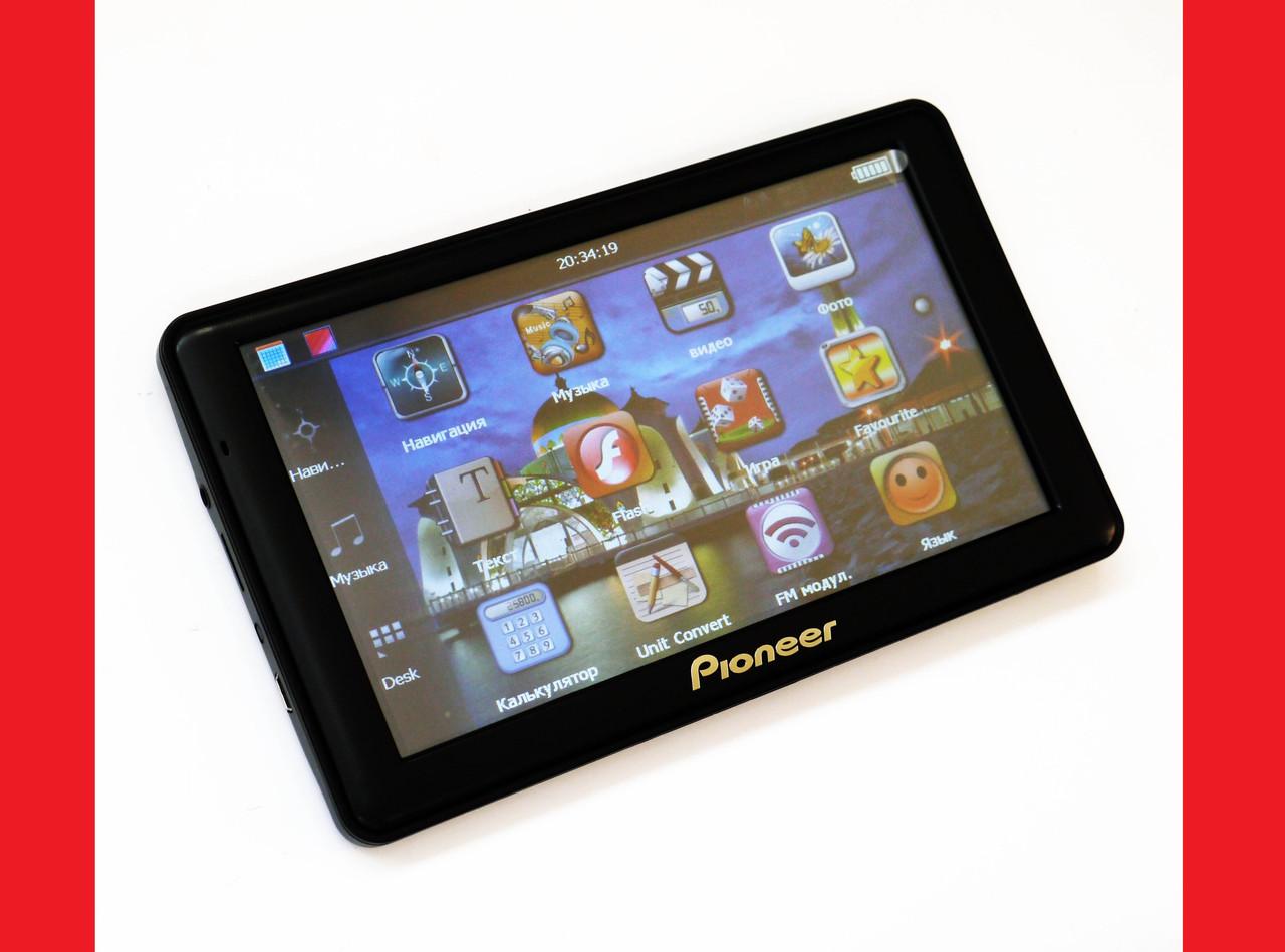 "7"" GPS навигатор Pioneer G718 - 8Gb / 800MHz / 256Mb / IGO + Navitel + CityGuide"