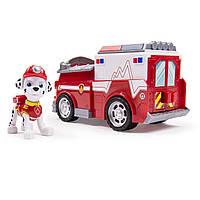 Пожарная машина и щенок Маршалл. PAW PATROL щенячий патруль., фото 1