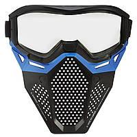 Оригинальная маска Нерф Райвал Фантом корпс голубая Nerf Rival Face Mask (Blue) B1617