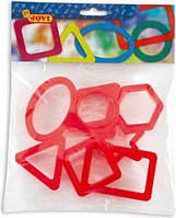 Форми для ліпленя геометричні фігури JOVI, фото 1
