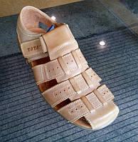 Летняя мужская кожаная обувь