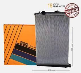 Радіатор без рами [perfekt cooling] DAF CF85 E3, E5