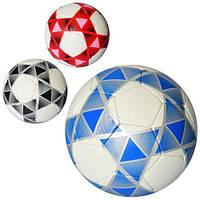 Мяч футбольный, размер 5, 3 цвета, 2500-117