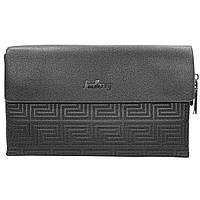 ➚Мужской портмоне Baellerry ND1921 Black стильный бумажник для денег и документов модный аксессуар для мужчин