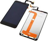 Дисплей (экран) для телефона Fly IQ4514 Quad Evo Tech 4 + Touchscreen Black