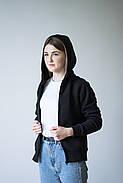 Кофта флісова з капюшоном, жіноча| Фліска, фото 4