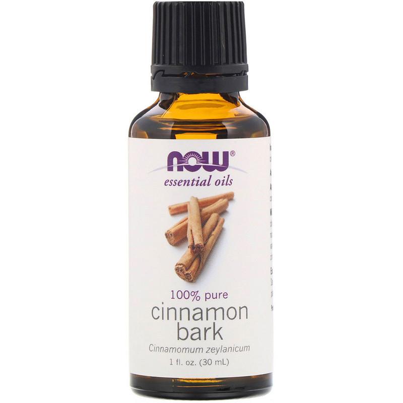 "Ефірне масло кори кориці NOW Foods, Essential Oils ""Cinnamon Bark"" (30 мл)"