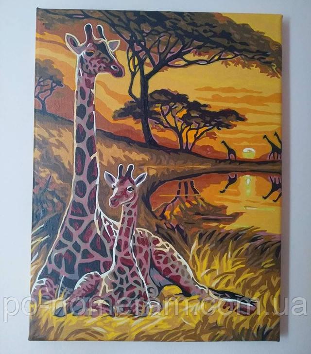 Картина по номерам Маленький жираф отзывы
