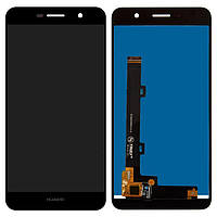 Дисплей (экран) для телефона Huawei Y6 Pro TIT-U02, Y6 Pro TIT-AL00, Enjoy 5, Honor Play 5X + Touchscreen (original) Black