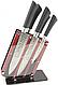 Набор ножей 6 предметов на подставке ZP 001, фото 2