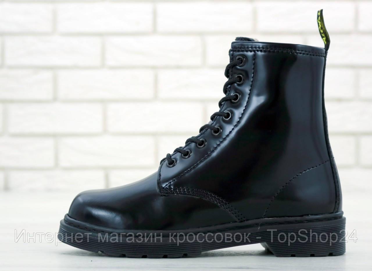 Зимние ботинки Dr.Martens Black