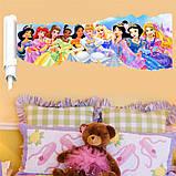 """Интерьерная наклейка в детскую """" Сказочные принцессы"""" рулон, размер 42*81 см., фото 3"""