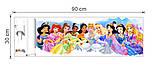 """Интерьерная наклейка в детскую """" Сказочные принцессы"""" рулон, размер 42*81 см., фото 4"""