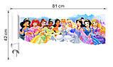 """Интерьерная наклейка в детскую """" Сказочные принцессы"""" рулон, размер 42*81 см., фото 5"""