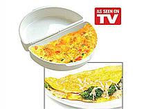 Омлетница яичница для микроволновки Egg and Omelet Wave | форма для приготовления омлета PR3, фото 2
