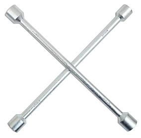 Ключ баллонный Technics крестообразный 17 х 19 х 21 х 22 мм (49-380)