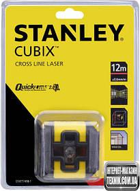 Лазерний рівень Stanley Cubix Red Beam Cross Line STHT77498-1