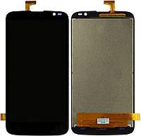 Дисплей (экран) для телефона Gigabyte GSmart Roma RX + Touchscreen Original Black
