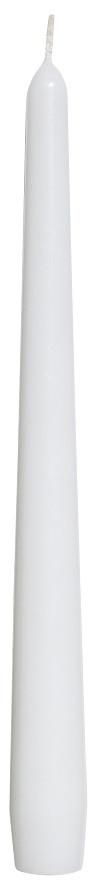 Свеча для ресторана белая  Bispol 1 шт
