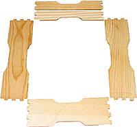 Рамка для сотового меда (98x103x36) под рамку Рута (по 8шт.)