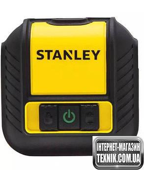 Лазерний рівень Stanley Cubix Green Beam Cross Line GREEN Зелений промінь, фото 2