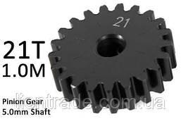Team Magic M1.0 21T Pinion Gear for 5mm Shaft