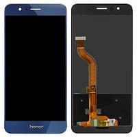 Дисплей (экран) для телефона Huawei Honor 8 FRD-L09, Honor 8 FRD-L19 + Touchscreen Blue