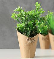 Декоративный вазон h22см 8313300 искусственный цветок
