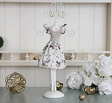 Подставка для украшений платье цветок GM09-J9021A