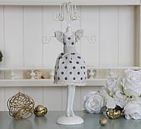 Подставка для украшений платье в горошек GM09-J9021C