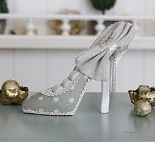 Подставка туфелька зеленая GM09-J9022B