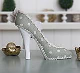 Подставка туфелька зеленая GM09-J9022B, фото 4