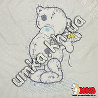 Детское постельное белье Euro Вышивка Тедди с ромашкой