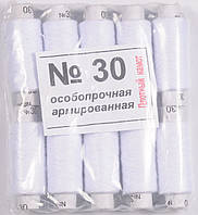Нить швейная №30 белая