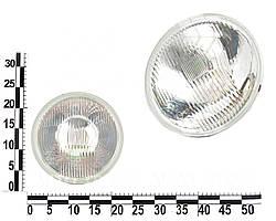 Фара ВАЗ 2101, 2102, 2121 левая=правая стекло+отражатель галоген с подсветкой. 62.3711200-10 (ОСВАР)
