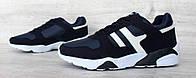 40р Чоловічі кросівки демісезонні синього кольору (15203сн)
