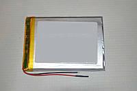 Универсальный аккумулятор (АКБ, батарея) 3.7V 3000mAh (4.0*65*70mm), фото 1