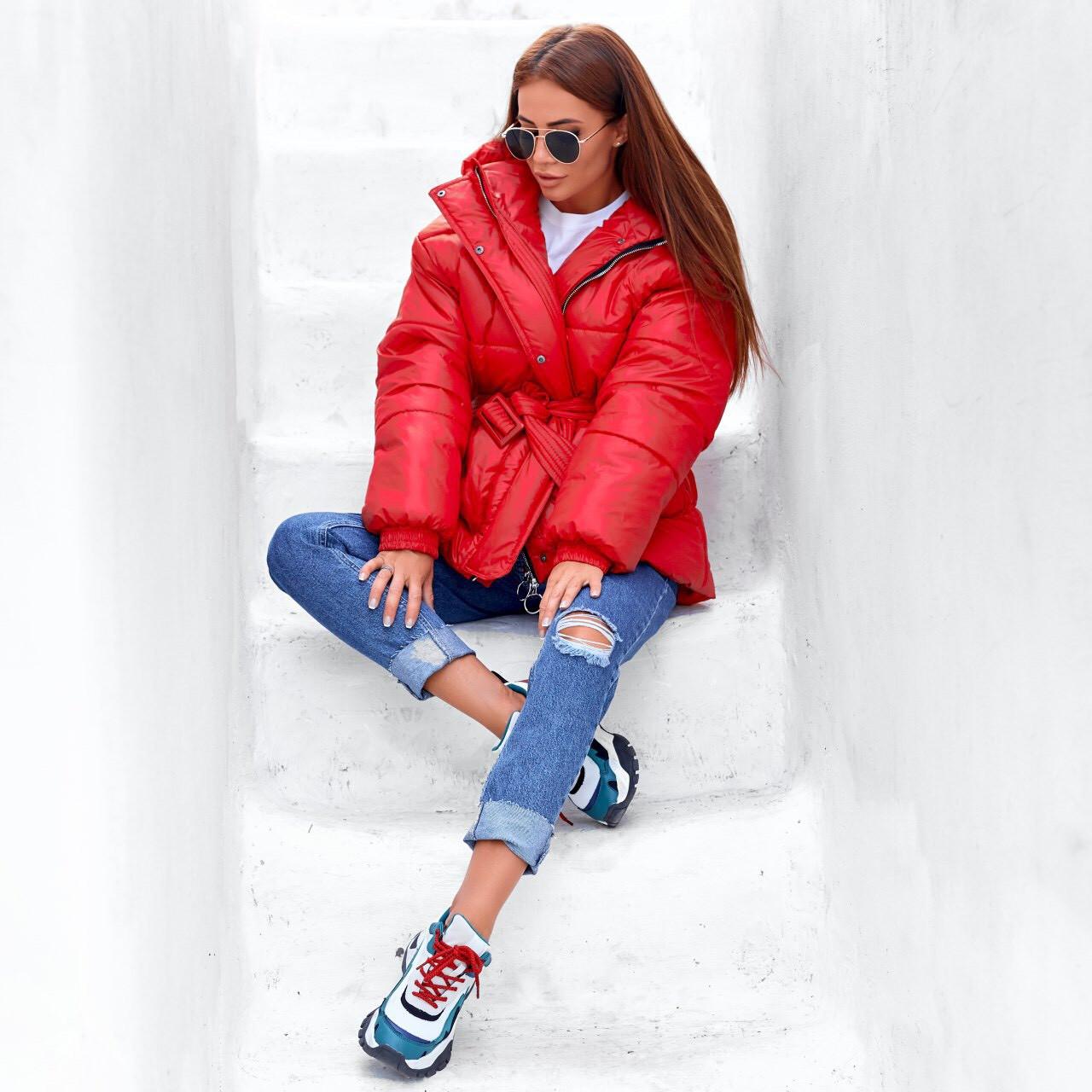 Жіноча куртка крансная