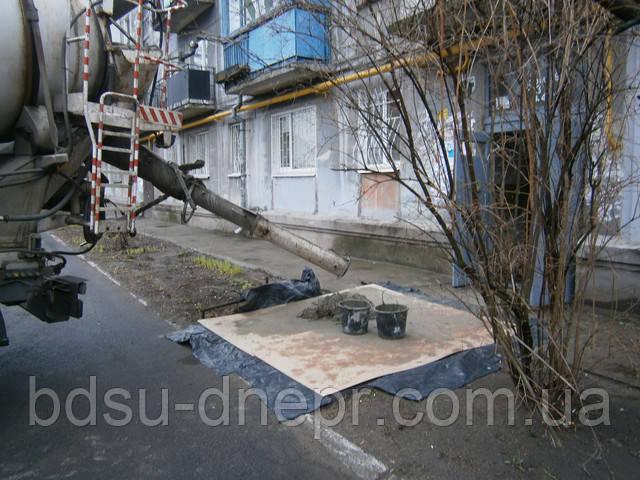 Стяжка пола в квартире в Днепропетровске