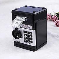 Копилка электронная в виде сейфа с кодовым замком, фото 1