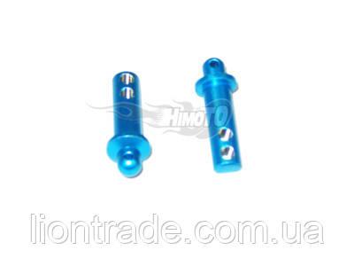 (82911) Blue Alum Front Body Posts 2P/Cap Head Machine Screws 2P 1Set