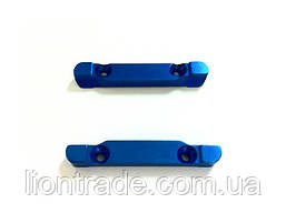 (86634) Blue Alum Front Upper Susp Arm Holder 1P