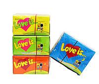 Жевательная резинка Love Is 100шт | Вкусное предложение | Радуга Вкуса